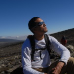 Steve Baskis on Mount Kilimanjaro
