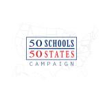 50 Schools 50 States Logo