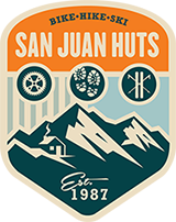 The Logo for San Juan Huts